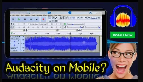 install audacity on android