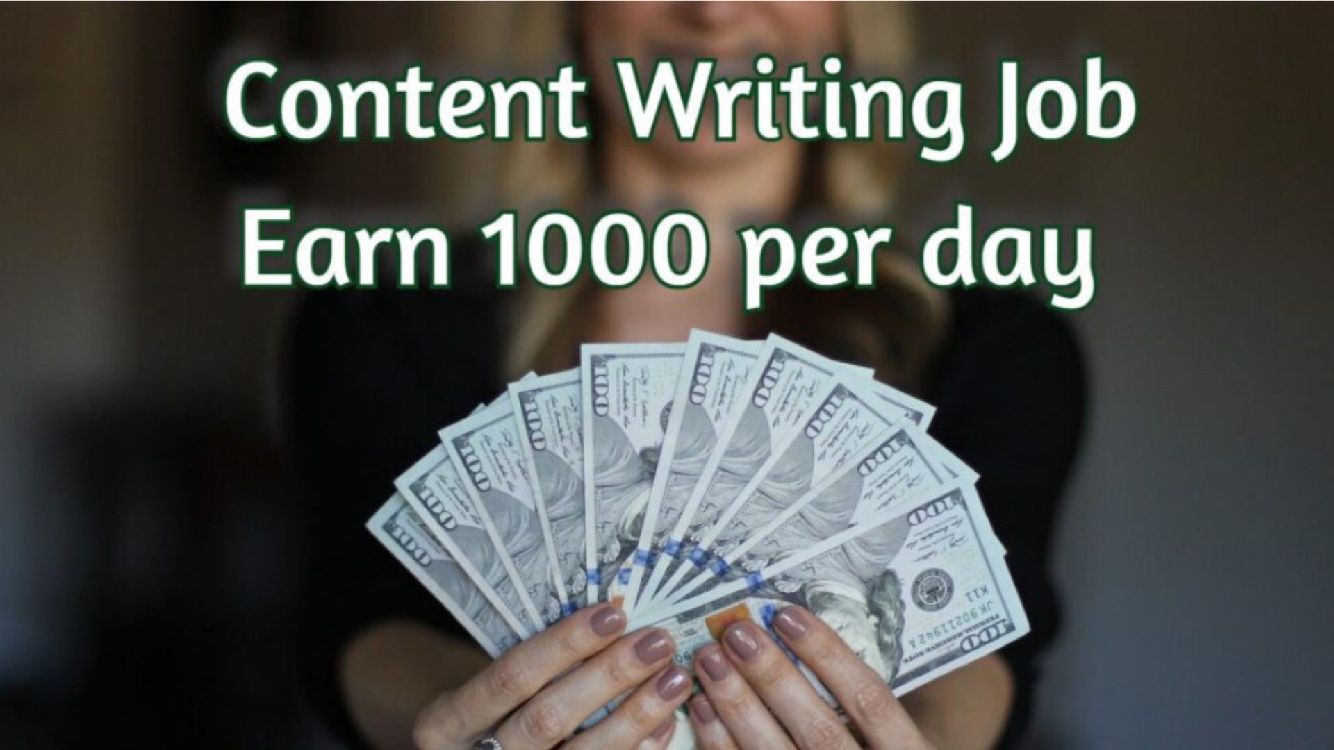 Content Writing Job
