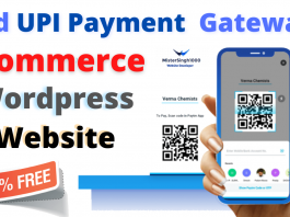 Add UPI Payment Gateway in eCommerce Website